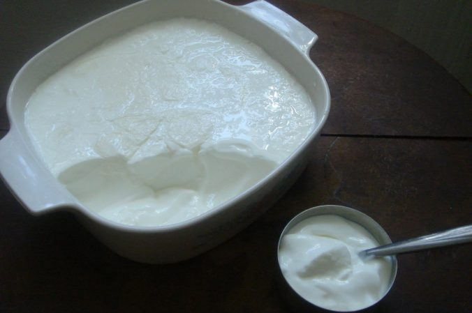Fresh yogurt to stop hair fall with natural treatment