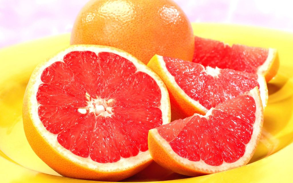 Grapefruit as super fruits
