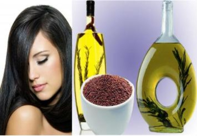 Mustard seeds benefits for hairs