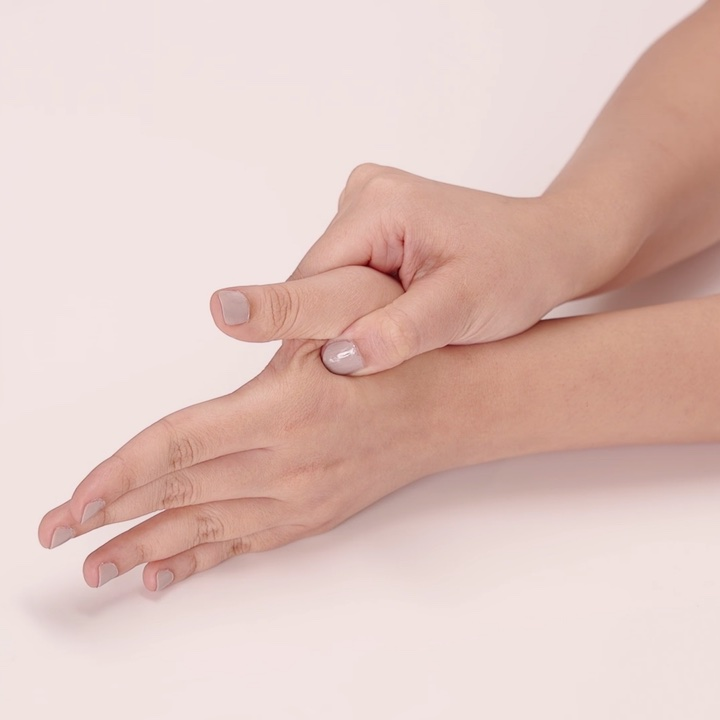 Acupressure point 1: point lies in the flesh between the thumb and the  index finger